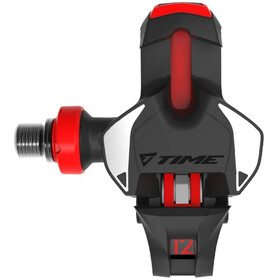 Time Xpro 12 Carbon Road Pedals black/red